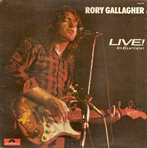 LIVE IN EUROPE LP (VINYL ALBUM) UK POLYDOR 1972