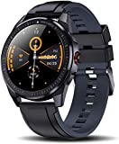 hwbq Smartwatch para hombres fitness tracker con contador de pasos bluetooth reloj inteligente contador de calorías pantalla táctil impermeable IP68 deportes actividad tracker