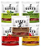 Dukes Shorty Sausages, Smoked Sticks - Variety Pack of 5 (5 ounces ea) in Mission Nutrition Bag