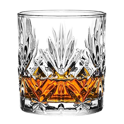 Glas 300ML oude glas whiskey Kop van de Wijn,Clear