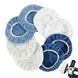 Juego de 8 discos pulidores para pulir, pulir, para vidrios, suelos y limpieza