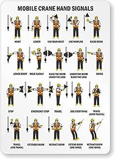 crane hand signal chart