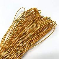 21ヤード1mmカラフルな高弾性ラウンド弾性バンドラウンド弾性ロープゴムバンド弾性線DIY縫製 tanglibeng (Color : 13)