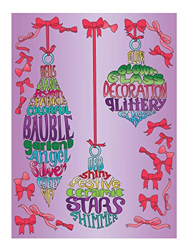 Creative Haven Christmas Whimsy: A WordPlay Coloring Book (Creative Haven Coloring Books)