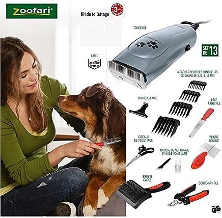zoofari CORTAPELOS Y Kit Completo para Mascotas, Perros, Gatos con MALETIN Y Accesorios 13