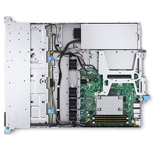 Dell PowerEdge R240 Rack-Server, Silber, Intel Xeon E-2234, 32GB RAM, 2x 480GB SSD, Dell 3 YR WTY + EuroPC Garantie Assist, (Renewed)