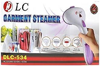 مكواة بخار من دي ال سي بقدرة 1500 واط، لون ابيض وارجواني طراز DLC-534