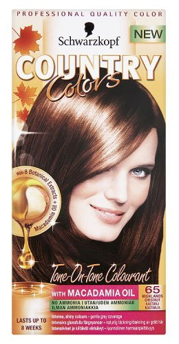 Schwarzkopf COUNTRY COLOR 65 Highlands - Chestnut, 150 ml