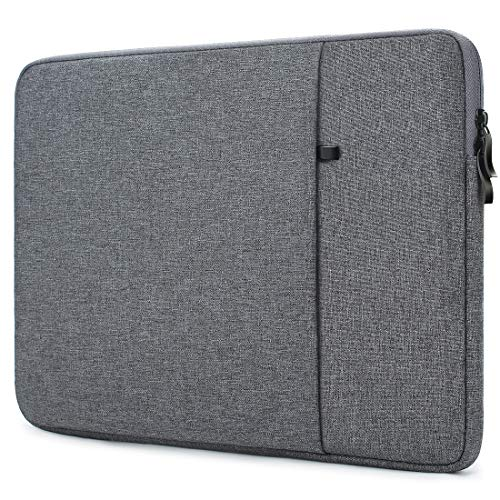 "NIDOO 14"" Laptop Sleeve Case Notebook Hülle Schutzhülle Tasche für 14\"" Lenovo Chromebook S330 ThinkPad A485 E485 / HP ProBook 440 G6 / Acer Swift 5 7 / Dell Inspiron 5490 Chromebook 14, Dunkelgrau"