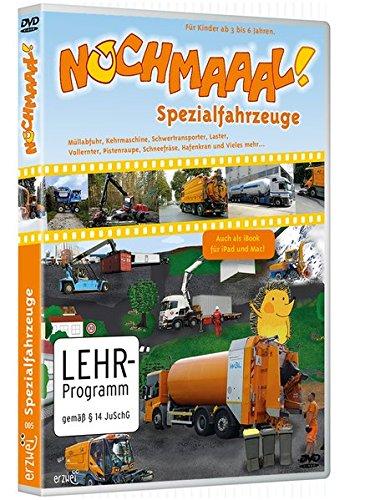 Nochmaaal! - Spezialfahrzeuge: Meine erste DVD - für Kinder ab 3 bis 6 Jahren