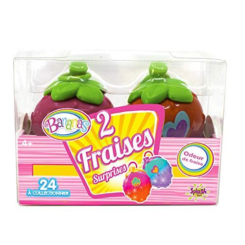 Splash Toys Banana 'S Fruit Fresa/Limon Pack de 2, 30832, amarillo, rojo , color/modelo surtido