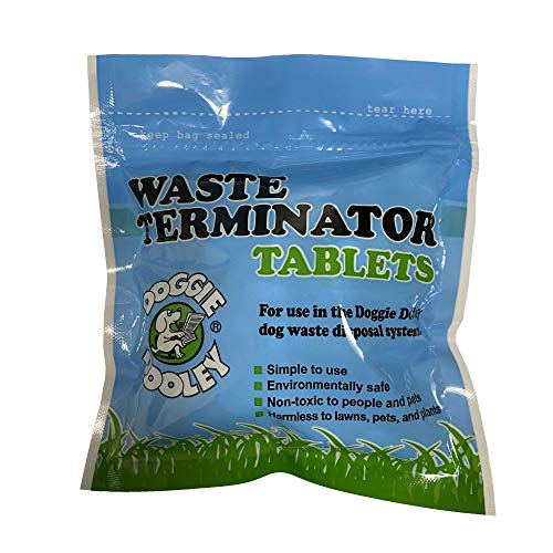 Doggie Dooley 36 Waste Tablets, White