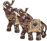 LULUDP-Decoración China Estatua de Colección elefante estatua, escultura Lucky...