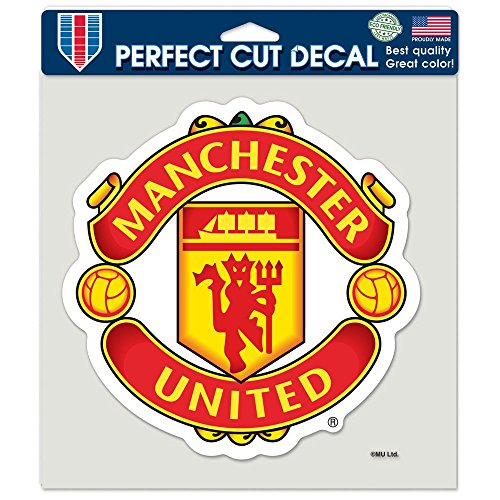 "WinCraft Soccer Manchester United Perfect Cut Color Decal, 8"" x 8"""