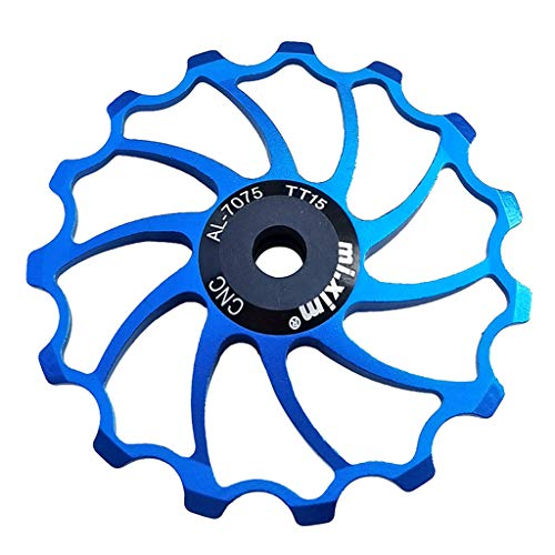 Team99 Bicicleta de carretera Polea de desviador trasero Bike Jockey Wheel Polea de cerámica Guía rodillo para piezas de modificación de bicicleta de montaña