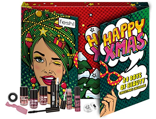 FESH! Beauty Advent Calendar - Beauty-Adventskalender mit 24 coolen Überraschungen, 24 Stück