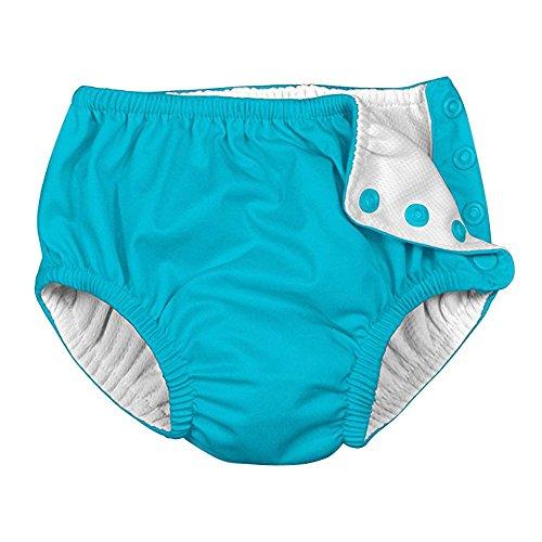 Topgrowth Pannolini Lavabili Neonato Bambina Bambino Costume Pannolino Riutilizzabile Assorbente Pantaloncini Nuoto Pannolino (Blu, 70)
