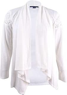 Women's V-Neck Striped Metallic Sweater