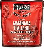 RIGGO Pasta Spaghetti Sauce - 8 Keto Tomato Sauce Packets with Gourmet Italian Flavors (2 Servings...