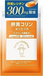 キユーピー ホスファチジル コリン 卵黄コリンはつらつ力 30日分 卵黄 レシチン ビタミンB群 配合 サプリ