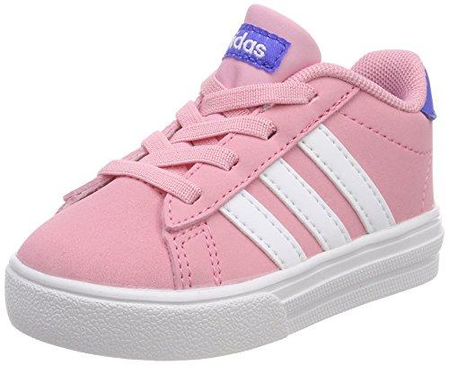 adidas Unisex Baby Daily 2.0 Niedrige Hausschuhe, Pink (Rossua/Ftwbla/Azalre 000), 19 EU