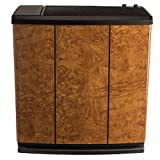 AIRCARE H12-400HB 4-Speed Whole-House Console-Style Evaporative Humidifier, Oak Burl