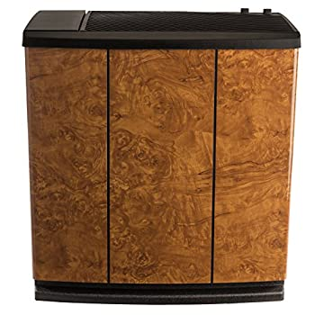 AIRCARE H12-400HB 4-Speed Whole-House Console-Style Evaporative Humidifier Oak Burl