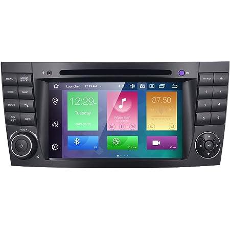 Zltoopai Autoradio Stereo Für Mercedes Benz E Klasse W211 Cls W219 Android 10 Octa Core 4g Ram 64g Rom 17 8 Cm Ips Bildschirm Doppel Din Im Armaturenbrett Gps Navigation Dvd Player Navigation