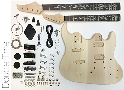 DIY Electric Guitar Kit - Double Neck Guitar and Bass