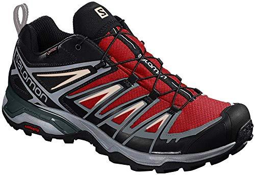 SALOMON Herren Shoes X Ultra Wanderschuhe, Grau (Gebrannter Ziegelstein/Schwarz Nero/Gebleichter Sand), 44 2/3 EU