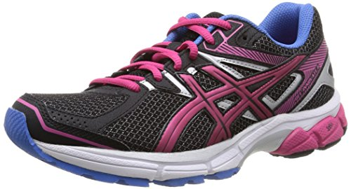ASICS Gel-Innovate 6, Damen Laufschuhe Training, Schwarz (Onyx/Silver/Powder Blue 9993), EU 37 (UK 4)