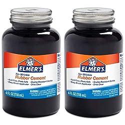 cheap Elmer's wrinkle-free rubber cement (2 pcs)