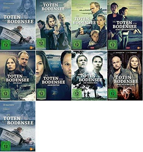 Die Toten vom Bodensee - 1-9 DVD Set