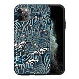 Générique iPhone 11 Coque, Japanese Wave MA049_2 Case for iPhone 11 Housse Étui Résistante,...
