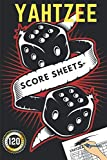 yahtzee score sheets: Yahtzee Score Pads, Yahtzee Score Cards with Size 6 x 9 inches Dice Board Game | | Yatzee Score Cards | Yahtzee score book Vol, Game Record Score Keeper Book