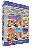 Chess Tactics in the Openings 6-in-1 Combo Open Games (6 Disks)