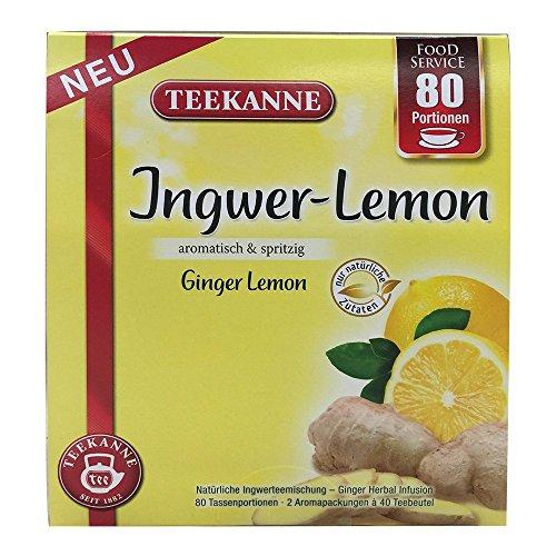 Teekanne Ingwer-Lemon 80 x 1,5g