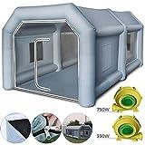 GIOEVO Tenda di Vernice Gonfiabile della Cabina di Spruzzo dell'automobile Tenda Gonfiabile Portatile per Auto 4x2.5x2.2m