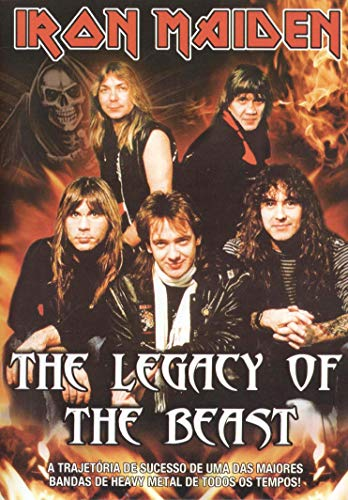 DVD Iron Maiden - The Legacy of The Beast