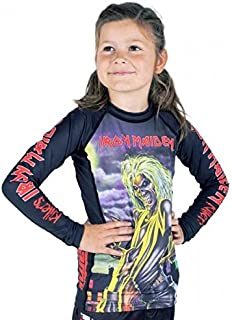 iron maiden rash guard