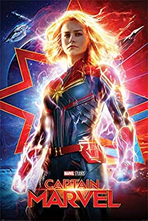 Captain Marvel - Marvel Comics Movie Poster (Regular Style) (Size: 24 inches x 36 inches)