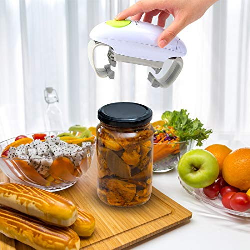 Electric Jar Opener for Seniors with Arthritis,Automatic Jar Opener for Weak Hands,Ideal Gifts for Seniors