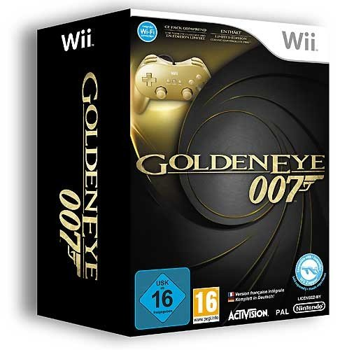 James Bond: GoldenEye 007 - Limited Edition inkl. Classic Controller Pro Gold