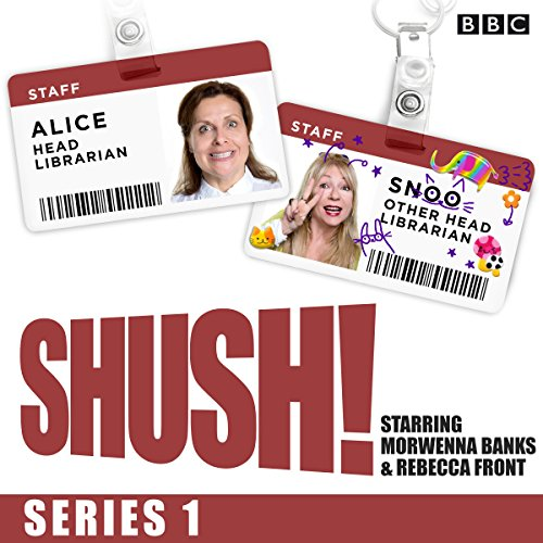 Shush! audiobook cover art