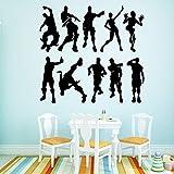 pegatinas decorativas pared Ps4 juego de baile para habitaciones...