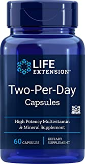 Life Extension Two Per Day (High Potency Multi-Vitamin & Mineral Supplement), 60 Capsules