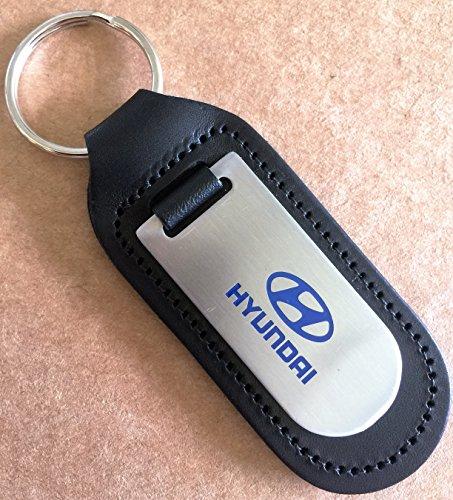 Home Guard Hyundai Schlüsselanhänger, echtes Leder