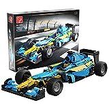 SPRING2014 1698 piezas 1:8 Super suspendido Coche de carreras F1 Monstruo Suspensión Juguetes Stem para Niños (Azul)