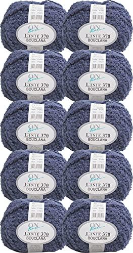 Online Linie 370 - Ovillo de lana (500 g, 10 ovillos de 50 g), color 05
