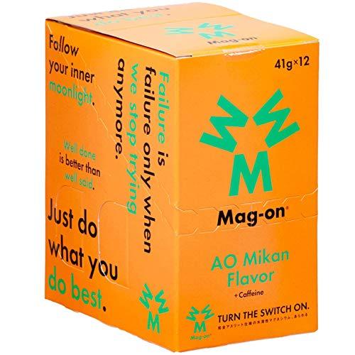 Mag-on マグオン 青みかん1箱(12個入り)【sotoasoオリジナルセット 登山 マラソン ランニング トレイルランニング トライアスロン 行動食 補給食】